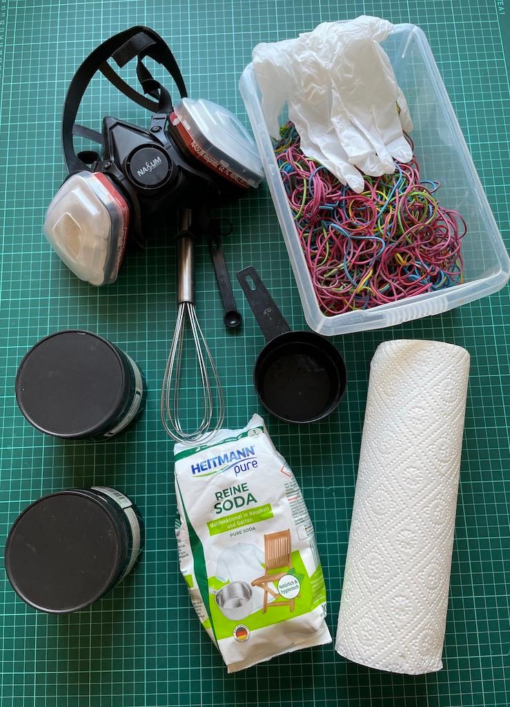Tinalicious Tie Dye Färbeutensilien