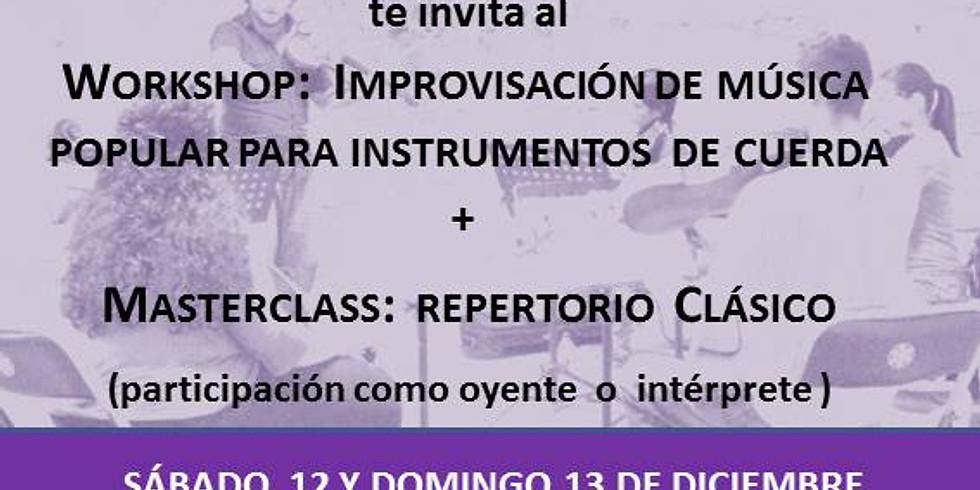 Workshop: Improvisación De Música