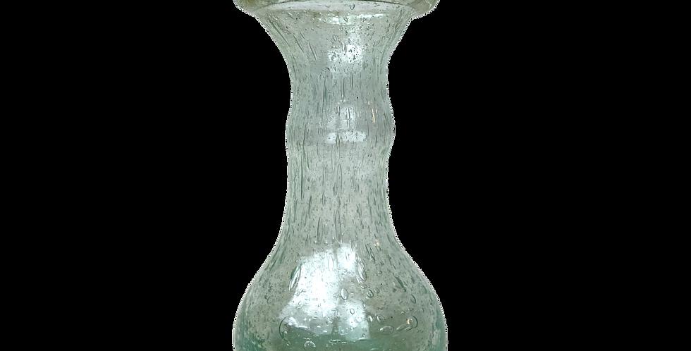 Single Stem Mouth Blown Glass Vase