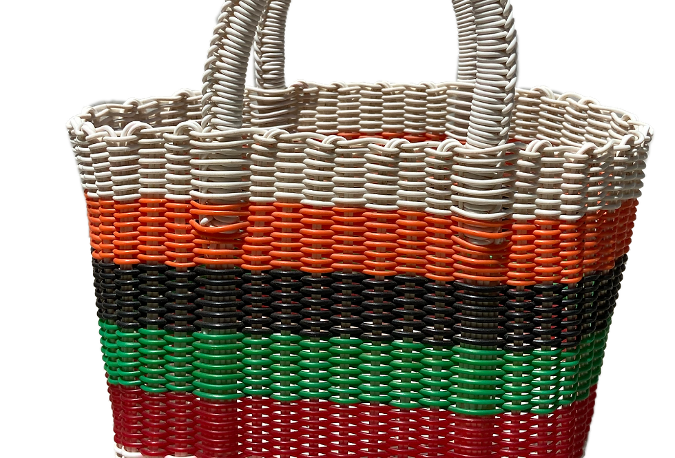 Reset Recycled Plastic Basket Bag - Small