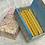 Thumbnail: Marbled Box of 18 Beeswax Candles