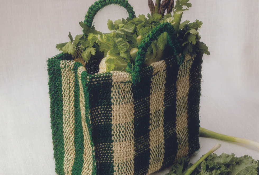 Chequered Bag - Green