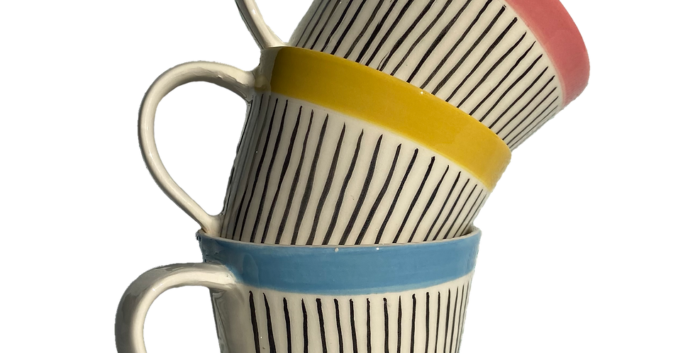 Hand Painted Small Coffee Cup