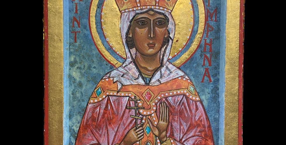 Saint Dymphna - Sarah Hiscox