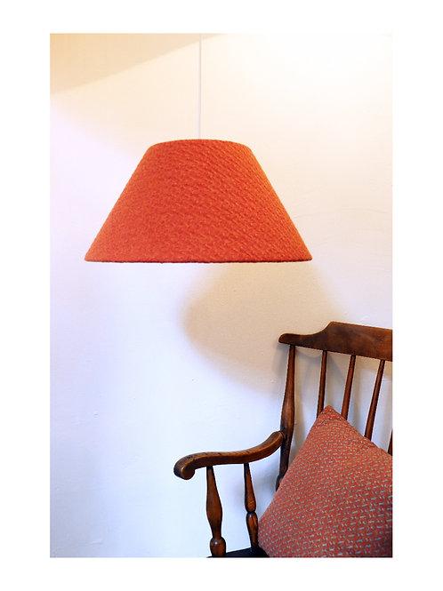 Burnt orange Coolie Lampshade