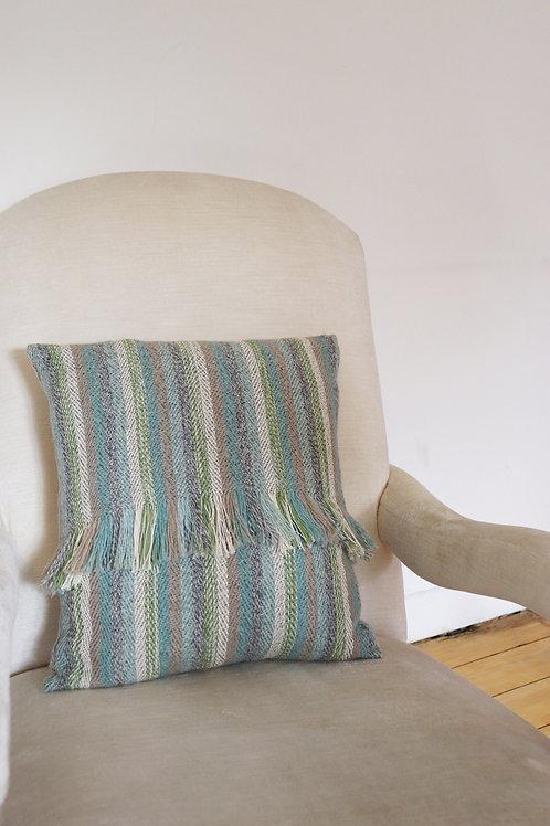 Handwoven Dawn Cushion