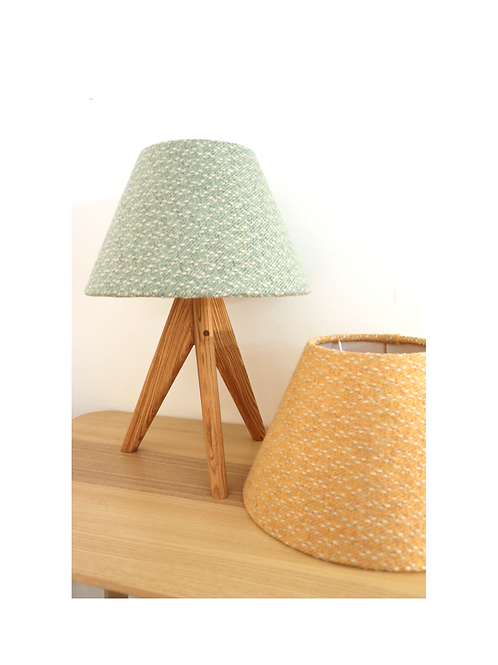 Mottled Coolie Lampshade