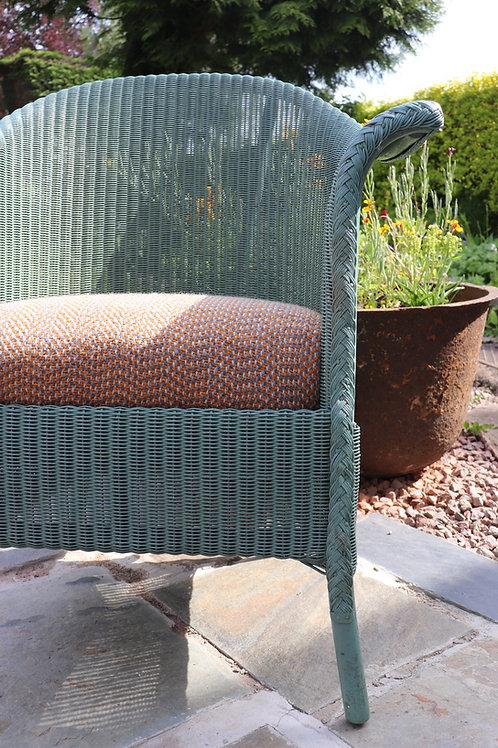 Recovered original Lloyd loom chair