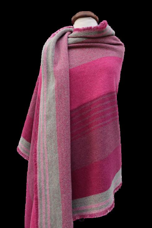 Shade of Pink Shawl