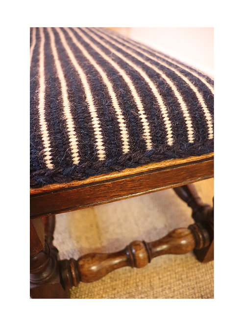 Upholstered Double Foot Stool