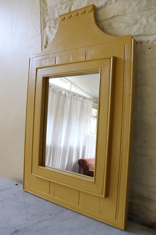 Scallop detail mirror