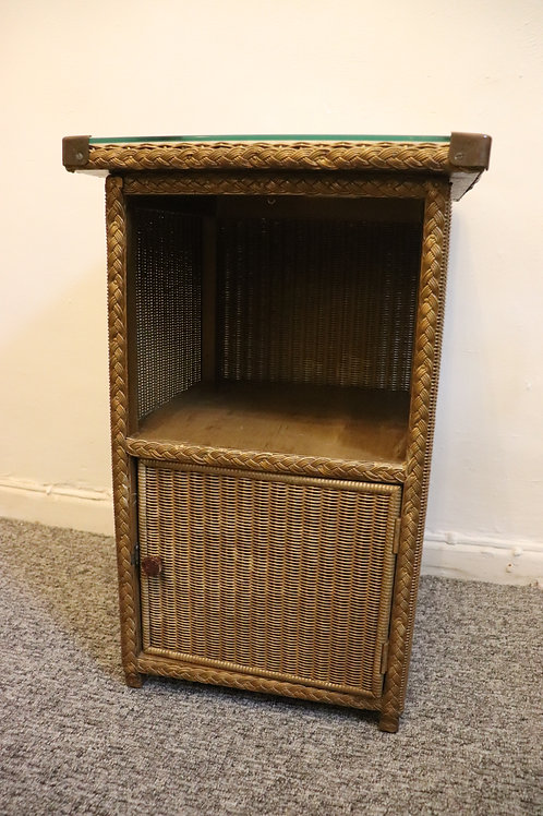 Lloyd loom bedside cupboard