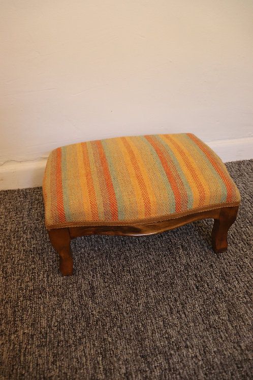 Small Reupholstered footstool