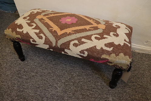 Long upholstered bench seat