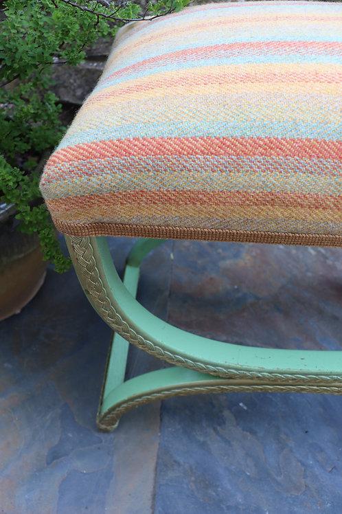 Recovered original Lloyd loom Stool