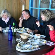 Dégustation d'huîtres, Cabane 57, Piraillan