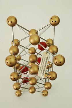 MID CENTURY 'CRYSTAL STRUCTURES LTD' MOLECULE MODEL