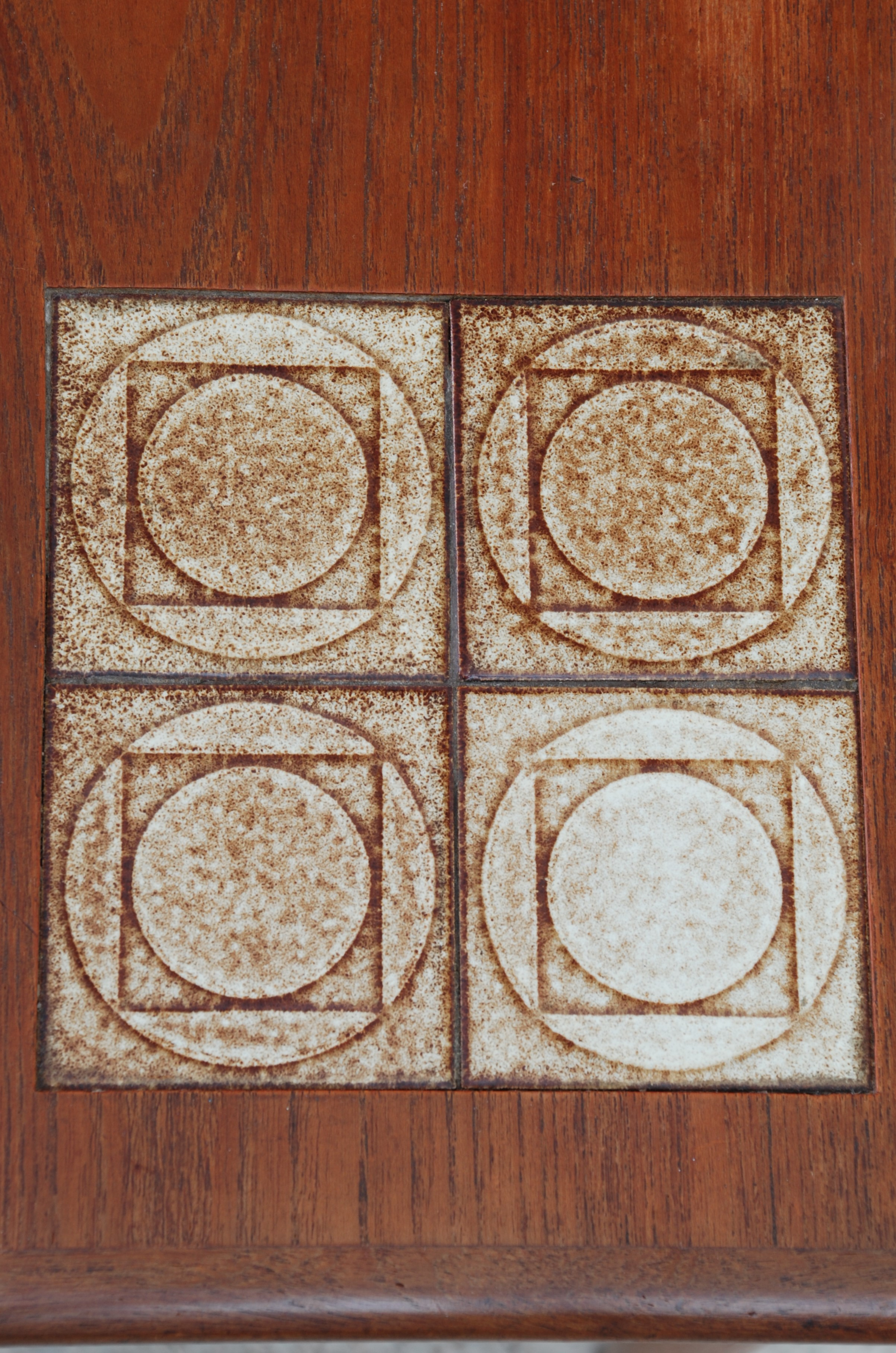Danish Tiled Nest of Tables