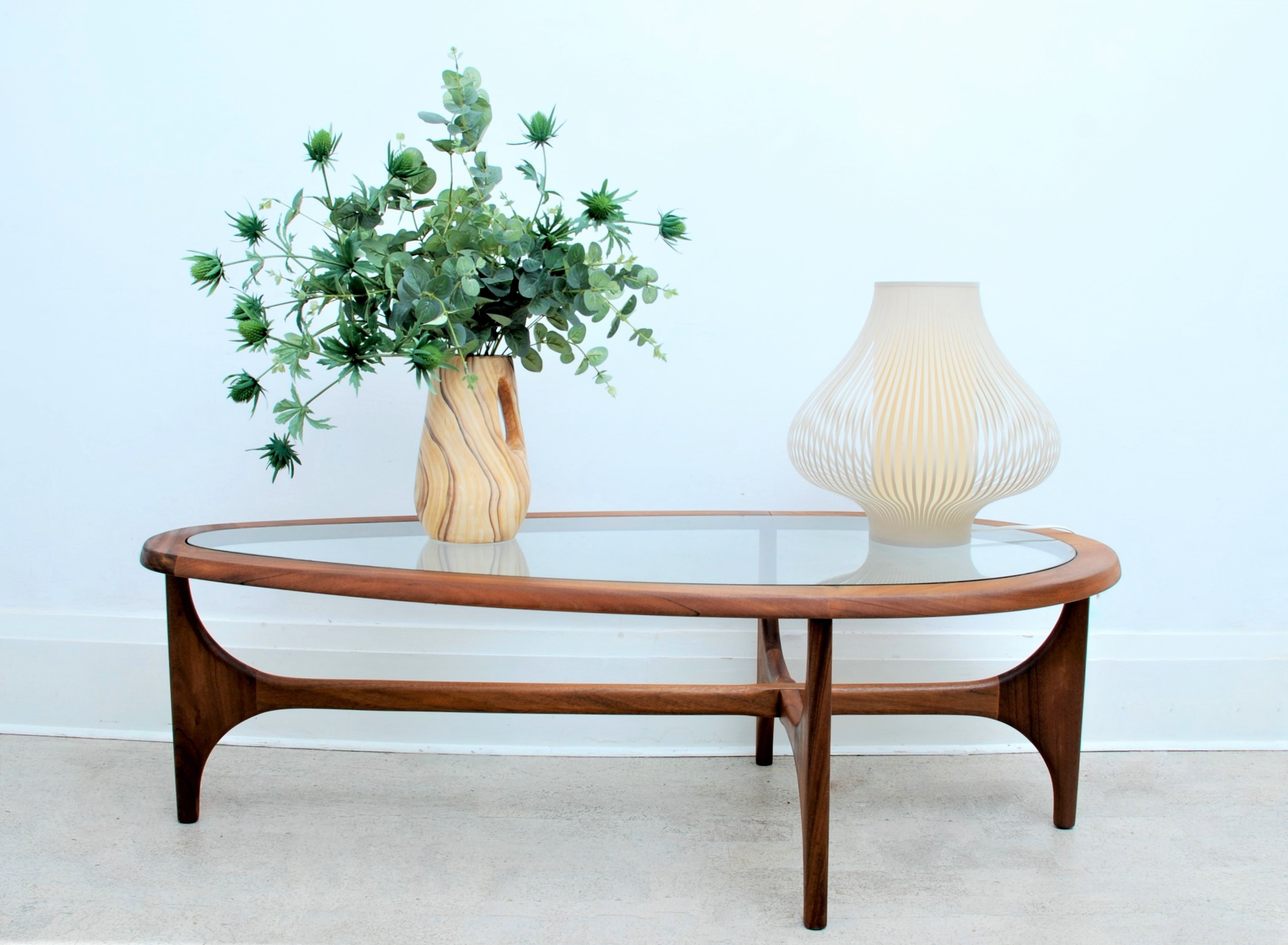 Tear Drop Coffee Table by Stonehill