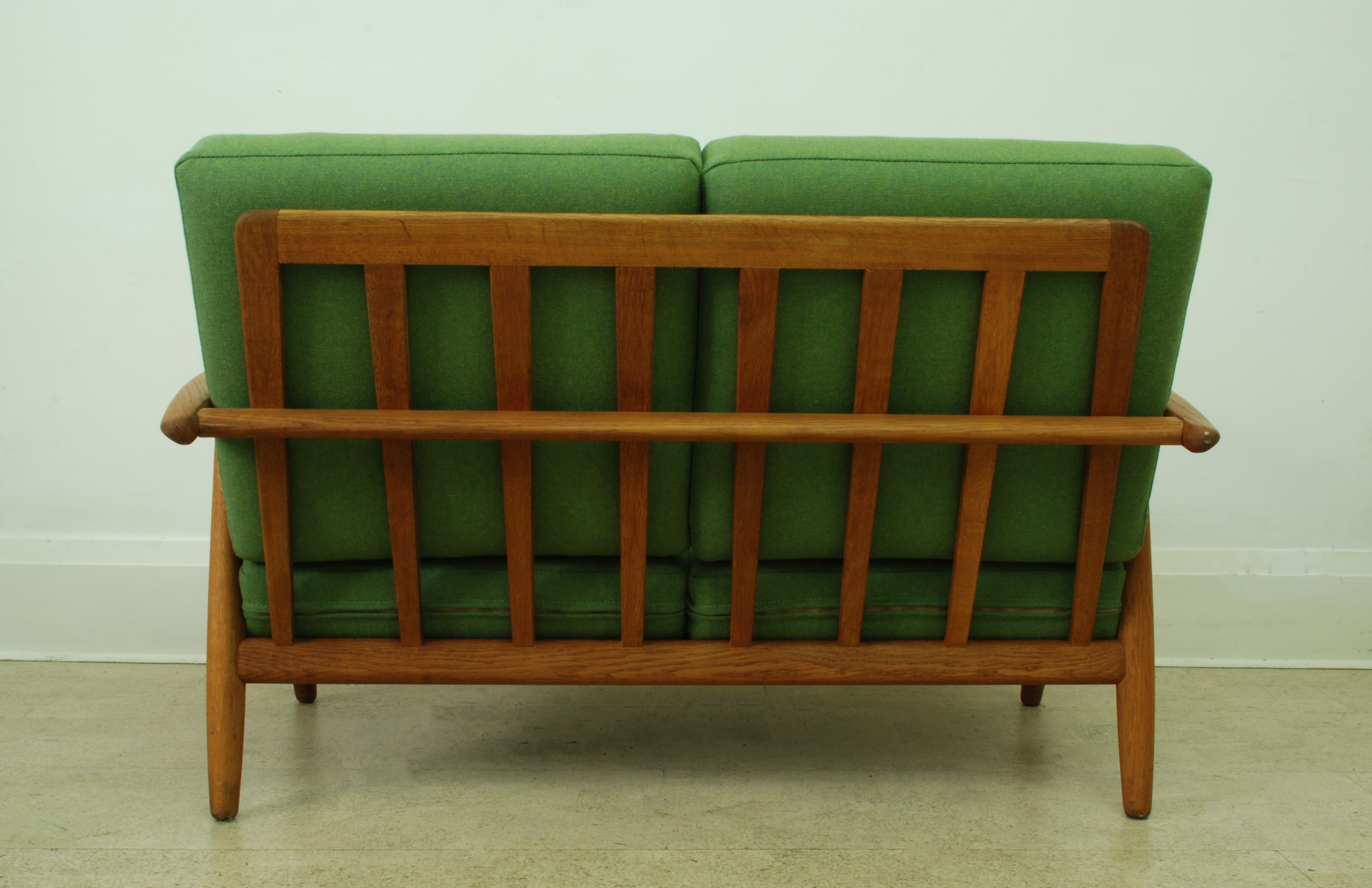 HANS WEGNER 2 SEATER CIGAR SOFA
