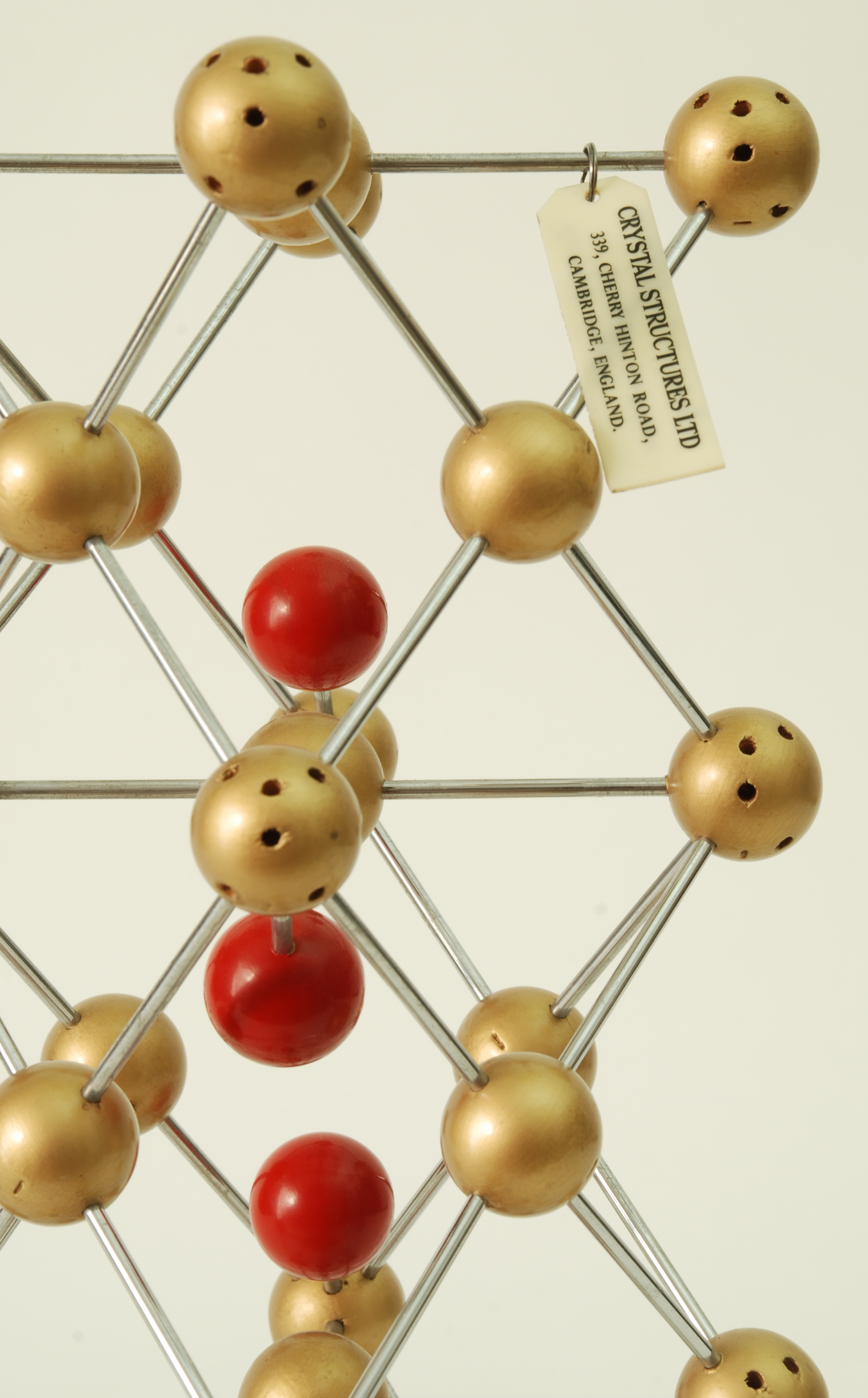 MID CENTURY 'CRYSTAL STRUCTURES LTD' MOLECULE MODEL