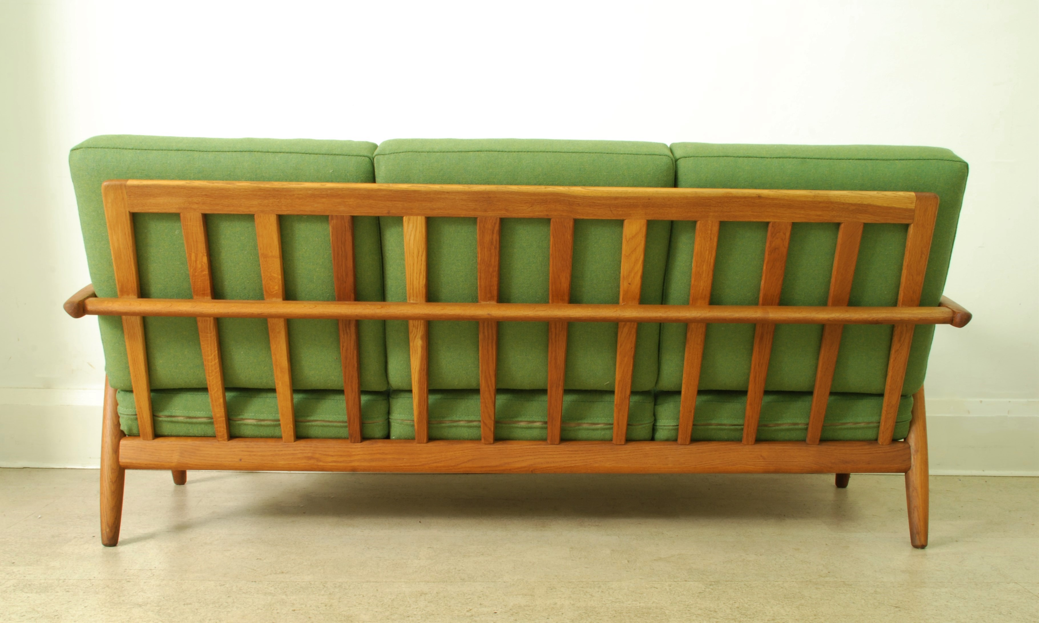 HANS WEGNER 3 SEATER CIGAR SOFA