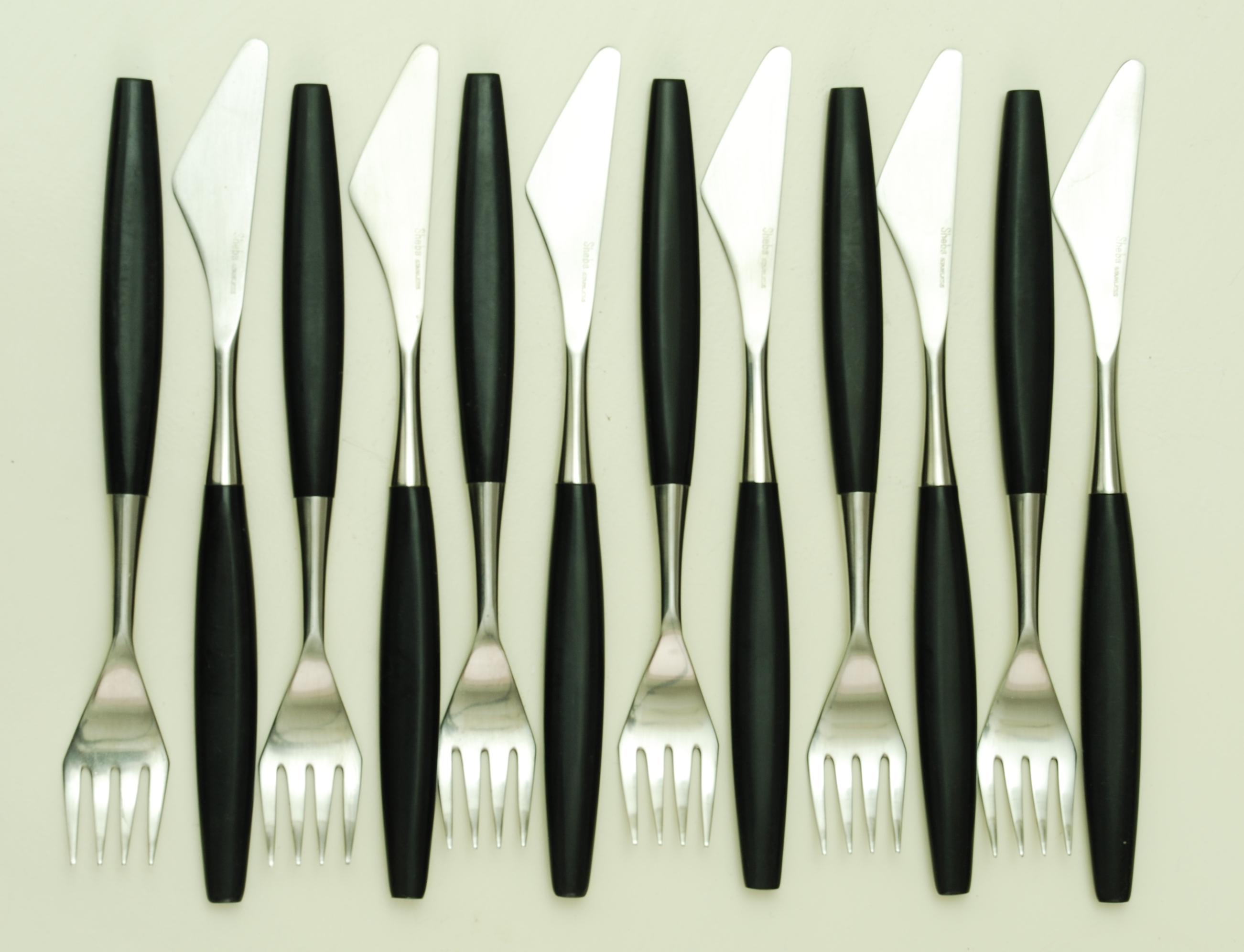 Butlers Sheba stainless steel cutlery (2