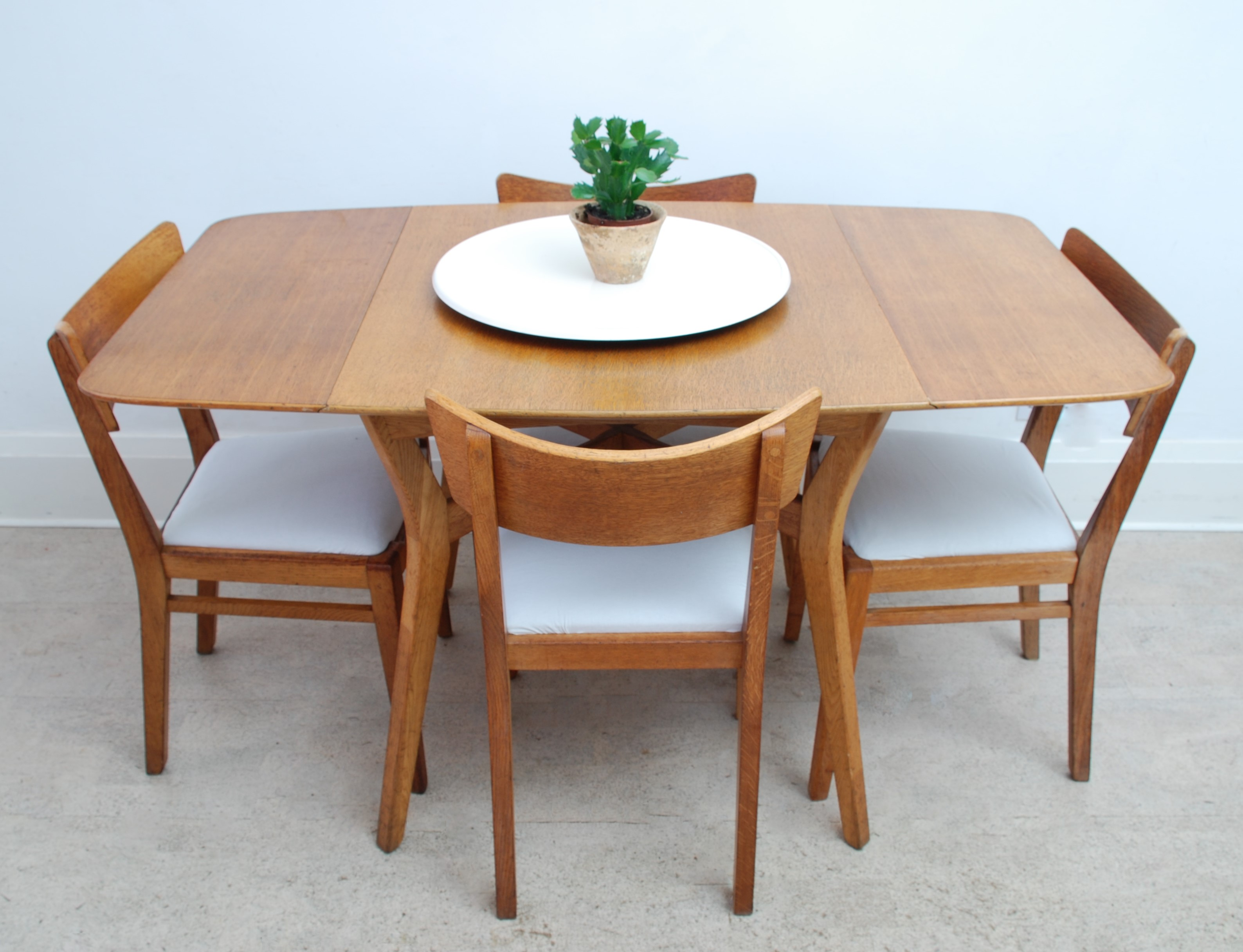 G Plan Drop Leaf Dining Table (12)