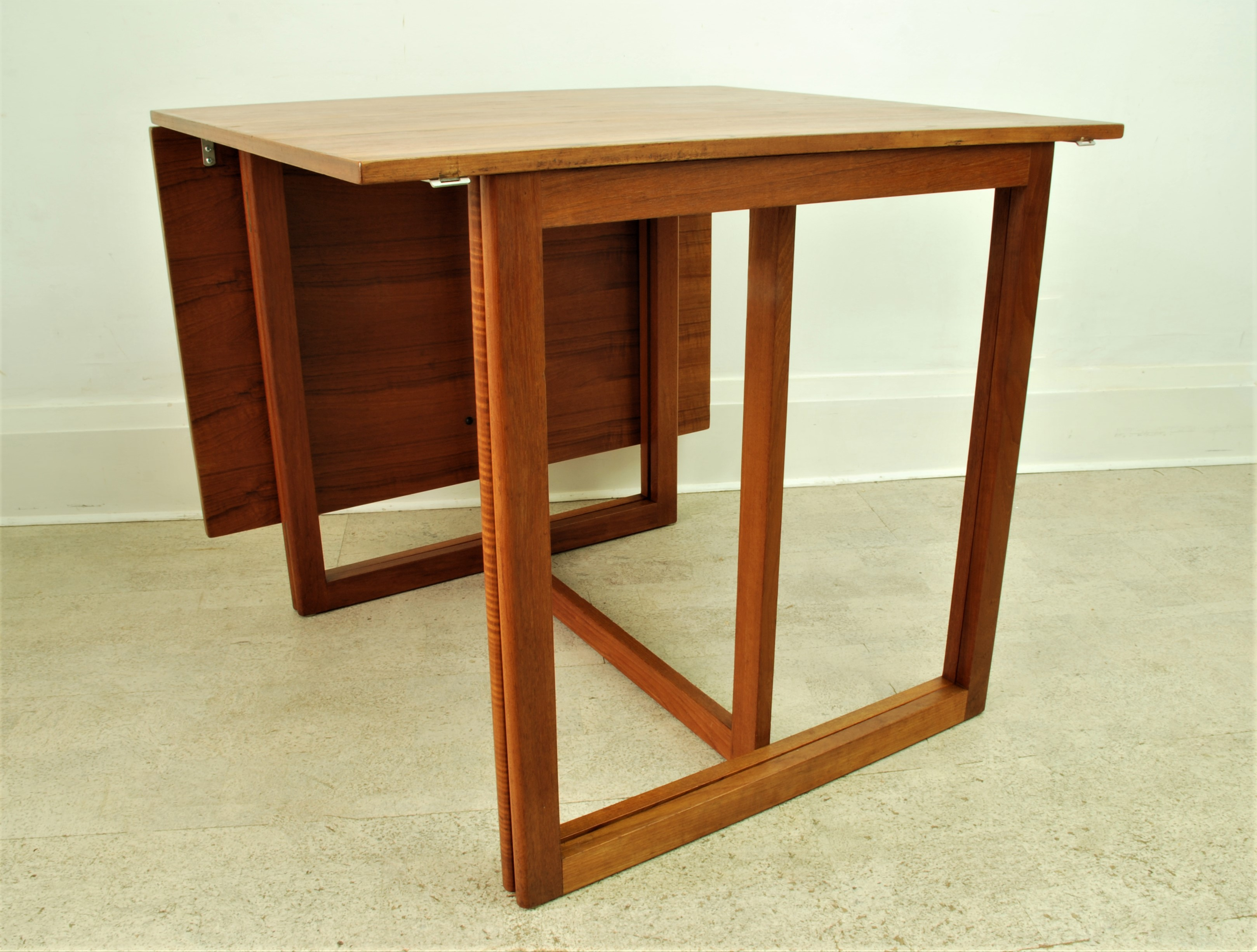 G P Farum Danish dining table drop down