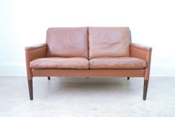 Kurt Ostervig Leather Sofa
