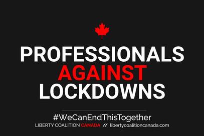 Professionals Against Lockdowns poster.j