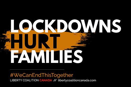 Lockdowns Hurt Families