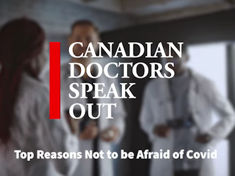 Press Release: Canadian Doctors Speaking Out