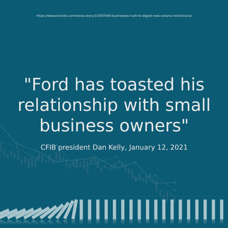 Ford Has Toasted His Relationship With Small Business Owners