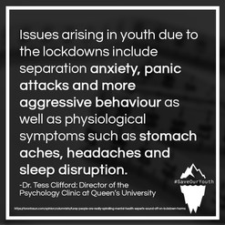 Save Our Youth - Anxiety, Panic Attacks