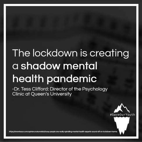 Save Our Youth - Shadown Mental Health P