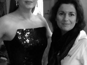 EwelineB dress Amy Adams, Golden Globes 2017 ceremony.