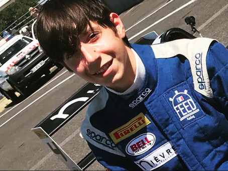 William Nicouleau chez Feed Racing