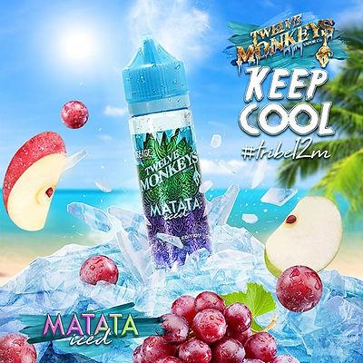 12 MONKEYS ICE AGE - MATATA, 50ML (60ML SHORTFILL)
