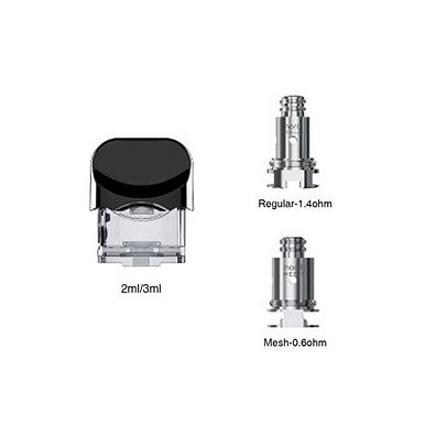 SMOK NORD PATRON 3ML - 0.6OHM OG 1.4OHM
