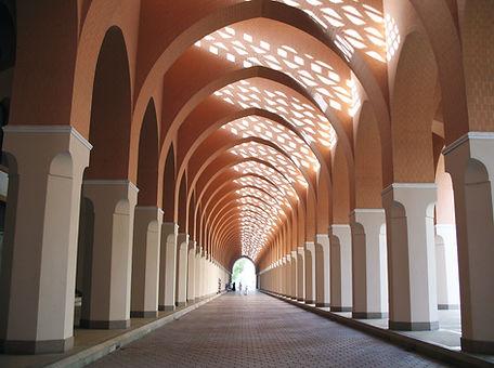 Mosque Hallway