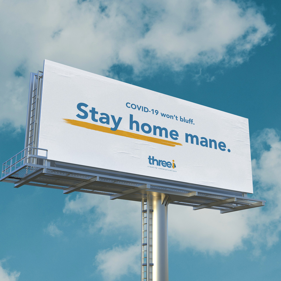 New COVID19 awareness campaign urges people to 'Stay Home, Mane'