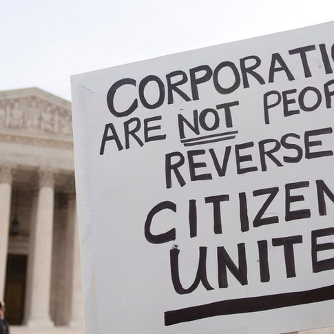 I Believe In Overturning Citizens United