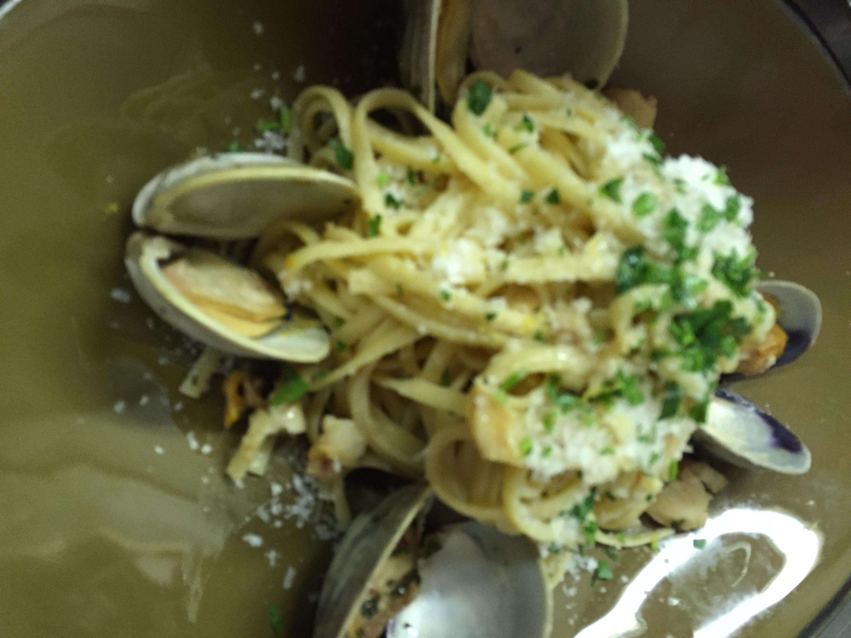 Linguini Clam