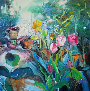 Tulpen im Garten