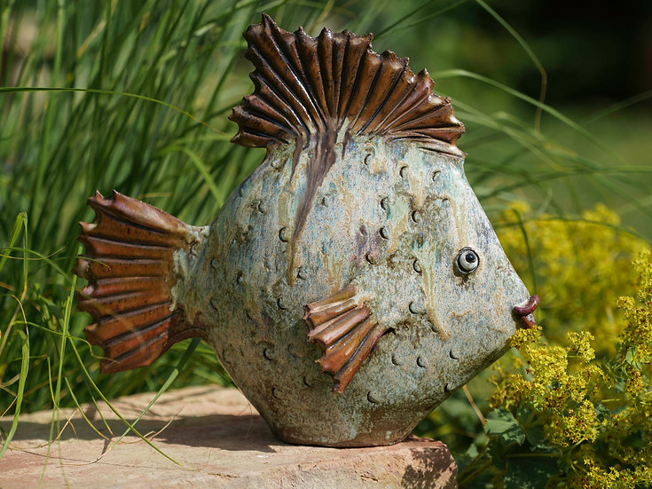 Flach-Fisch gesprenkelt