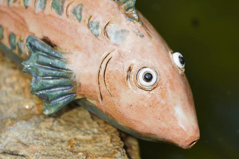 Keramik-Fisch lachs