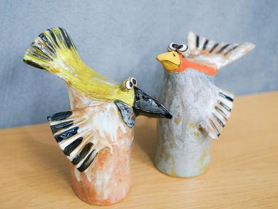 Gartenkeramik Vögel kaufen