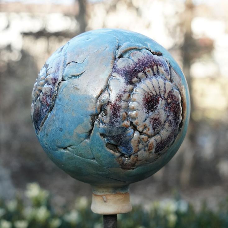 Ammoniten - Rosenkugel