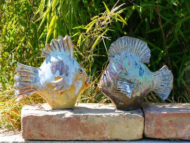 Fisch aus Keramik - Gartenkeramik kaufen